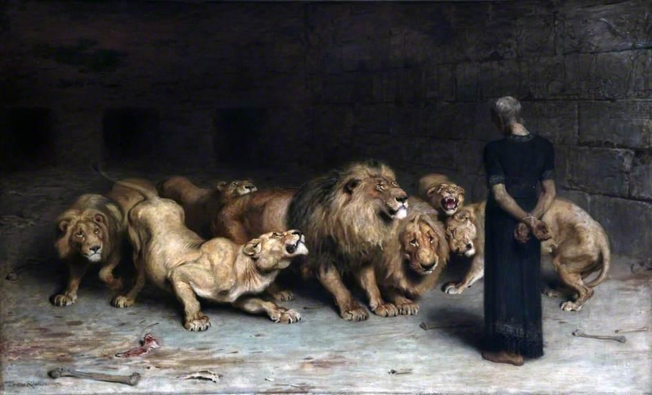 Daniel in the Lion's Den - Riviere.jpg