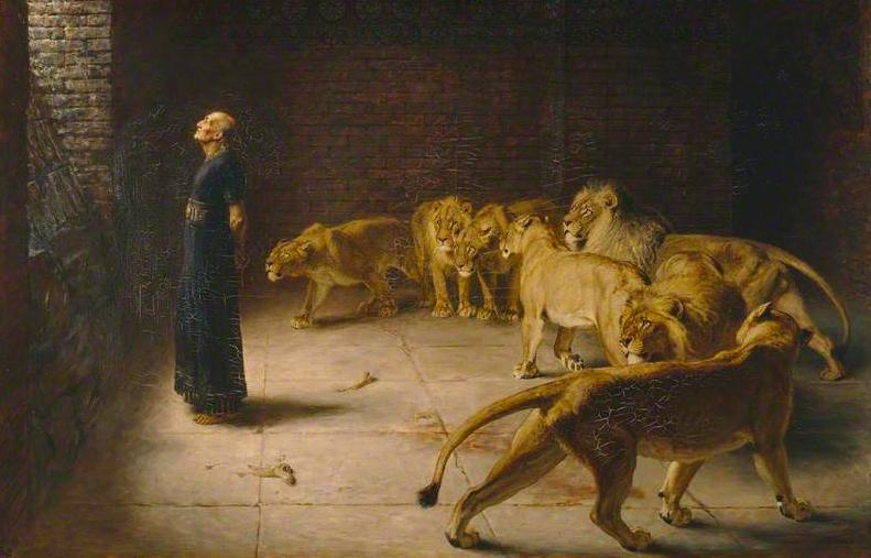 Daniel's Answer to the King - Briton Riviere 1890