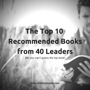 The Top 10Book Recommendationsfrom 40 Leaders